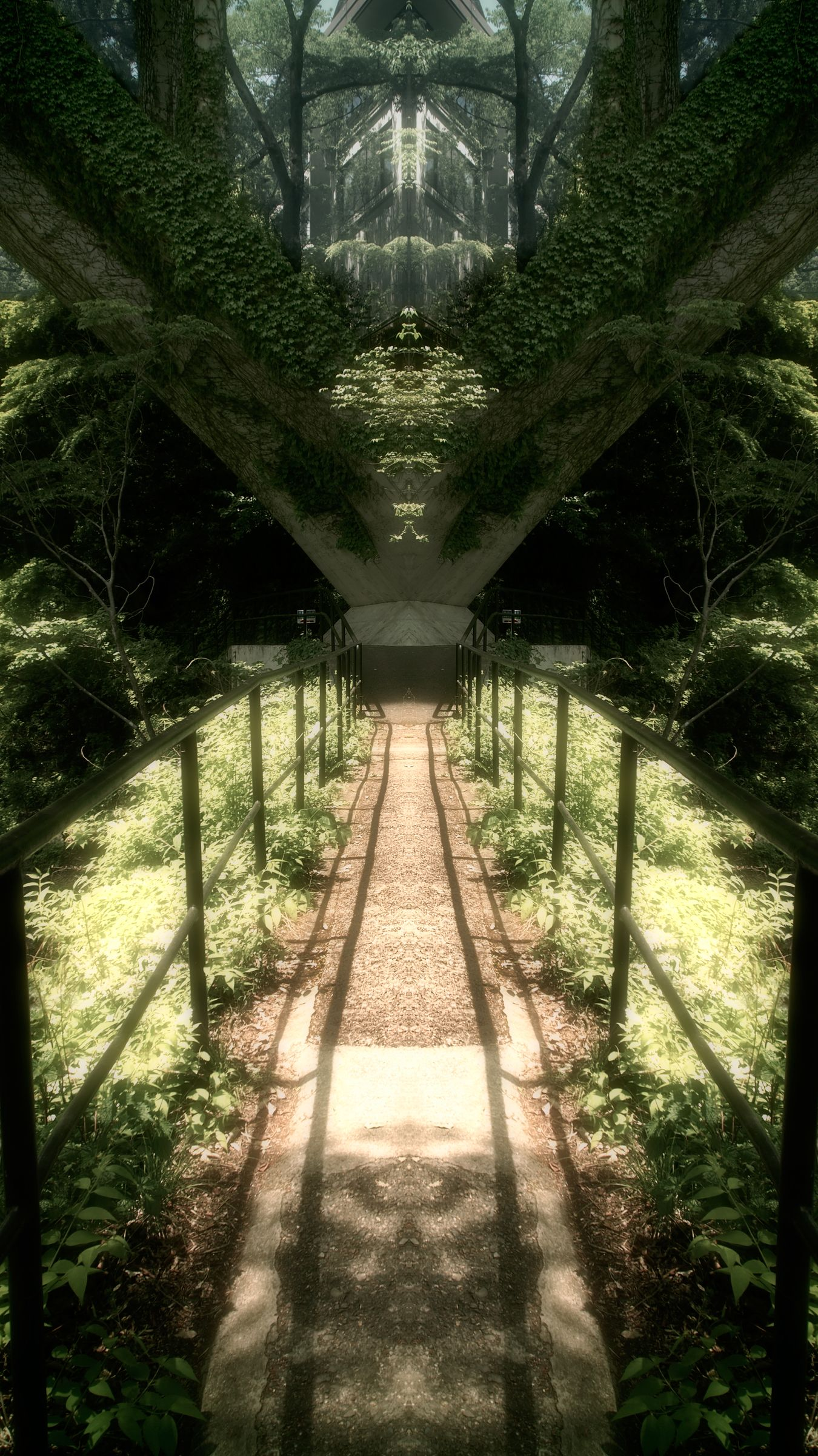 Path to the Temple